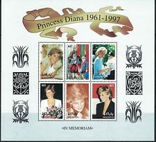 Maldives Princess Diana1961-1997 Souv.Sht. In Memoriam MNH 1997