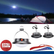 60 LED Outdoor Camping Light Portable Umbrella Tent Night Lamp Hiking Lantern US
