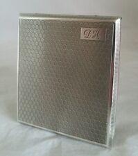 Un caso de tarjeta de cigarrillos/de Plata de Ley. Birmingham 1928.By F H Adams & Co.