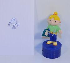 "2001 Wendy 3.25"" Decopac Ink Stamp Stamper Action Figure Bob The Builder"