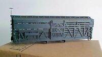 HOn3 D&RGW 5500 series double deck stock car NG, MRGS kit# 101, no trucks