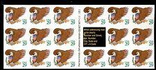 STATI UNITI - 1992 - Aquila e stemma (iscrizioni in verde) in minifoglio di 17