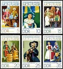 EBS East Germany DDR 1974 Arnstadt Doll Museum Michel 1975-1980 MNH**