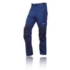 Capi d'abbigliamento da campeggio da uomo blu in nylon taglia S
