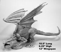Reaper Miniatures Marthrangul, Great Dragon 77542 Bones Unpainted Plastic Figure