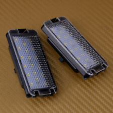 Fits Seat Leon Mk1 (1M) 2001-2004 A Pair 18LEDs Number License Plate Light