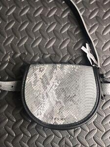 Dkny Silver Belt Bag