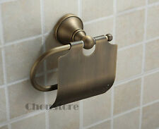 Traditional Antique Brass Bathroom Paper Roll Holder Toilet Tissue Roller Rack