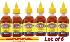6x230g Original SrirachaPanich chili Sauce Medium Hot SpicyDip Cooking Halal DHL