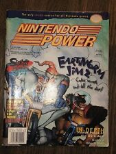 Vtg 1996 Nintendo Power Magazine Volume 83 Earthworm Jim 2 Used