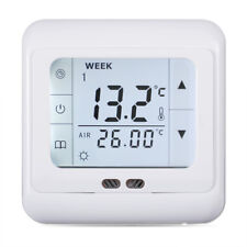 Floureon BYC07.H3 16A White Touch Screen Thermostat With Weekly Programming EU