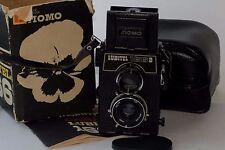 LUBITEL 166B Russian TLR camera Boxed USSR 6x6 4.5x6 Medium LOMO N2