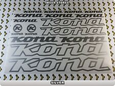 KONA Stickers Decals Bicycles Bikes Cycles Frames Forks Mountain MTB BMX 57TD