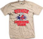 Redneck Drinking Team Cheers Alcohol Beer Health Toast Southern US Men's T-Shirt