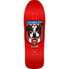 "POWELL PERALTA Skateboard DECK Re-Issue FRANKIE HILL BULLDOG Red 10"" X 31.5"""