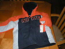 NIKE boys winter jacket  100% polyester  sz 5 NWT