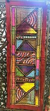 "Rajasthani Embroidered Wall Hangings 22"" x 62"""