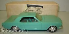 VINTAGE FORD MOTORS MUSTANG HT SCALE MODEL PROMO CAR W/ BOX MINT GREEN