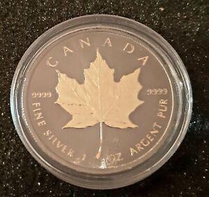 Canada 5 dollars 2019 Maple Leaf plated - 1 oz silver.
