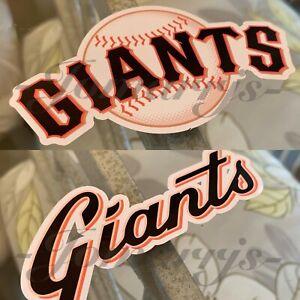 San Francisco Giants Baseball Team Logo MLB Sticker Decal Vinyl SF Gigantes