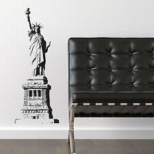 Statue of Liberty- New York City -  Vinyl Wall Accent Decal