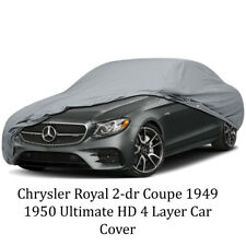Chrysler Royal 2-dr Coupe 1949 1950 Ultimate HD 4 Layer Car Cover