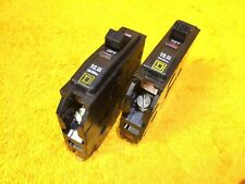 *Perfect* Lot Of (2) Square D Type Qo Qo130 30 Amp 1-Pole Plug In Breakers