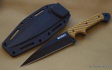 CRKT C/K DRAGON FIGHTING FIXED BLADE KNIFE FULL TANG *RAZOR SHARP* KYDEX SHEATH