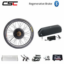 48V 1500W E bike Conversion Kit Motor Wheel Motor Hub 20-29 inch With Battery
