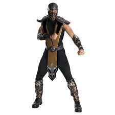 Scorpion Deluxe Costume - Mortal Kombat - Size Standard