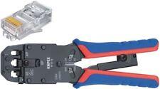Knipex pinze leva a crimpare per spine occidentali RJ10 RJ11/12 & RJ45