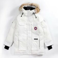 Canada Goose Expedition Parka White Gr.L Neu