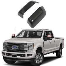 Mirror covers For 2017 2018 Ford F-250 F-350 F-450 F-550 Super Duty Gloss Black