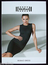 Wolford Bilbao Vestido Negro Tamaño mediano, gran modelado, UK 12-14, EE. UU. 8-10, nuevo con etiquetas