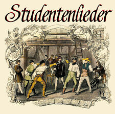 CD studenti canzoni incl. i pensieri sono liberamente e Gaudeamus igitur