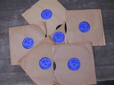 Lot of 6 Vintage NEW/old stock Russell Bunai 78 RPM Oud Lute Records Mid-Eastern