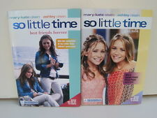 So Little Time Books by Mary-Kate & Ashley Olsen, Lot of 2 Books