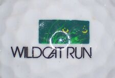 (1) Wildcat Run Golf Course Logo Golf Ball (Florida)