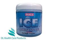 Mac's Ice Analgesic Gel Long Lasting Pain Relief Sole U.K Distributor