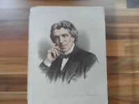 Antique prints - Old Political world figure print - James Martineau - Religion