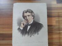 Antique prints - Old Political world figure print - James Martineau - Religion