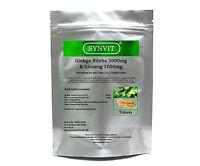 Ginkgo Biloba 3000mg & Korean Ginseng 1000mg SYNVIT®