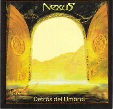 """Nexus:  """"Detras Del Umbras""""  + Bonustracks (CD Reissue)"""