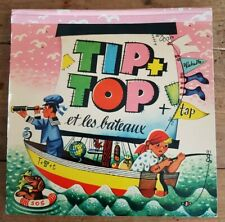 RARE EO 1965 + MARINE LIVRE 6 POP UP + V. KUBASTA : TIP + TOP ET LES BATEAUX