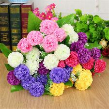 Outdoor Simulation Fake Flower Silk Bouquet False Plants Artificial Hydrangea