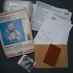 Teddybär Bastelpackung Plüsch Bär selber nähen DIY Minibär zum Selbermachen