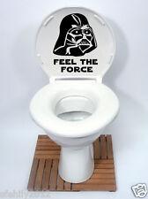star wars style Toilet Seat Sticker Fun Decal Vinyl Sticker new design uk seller