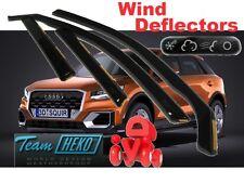 AUDI Q2 2016 -  5.doors  Wind deflectors 4.pc set HEKO 10257