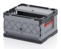 5er Set Auer mit Deckel Faltbox FBD43/22 40x30x22cm 21L Klappkiste Transportbox