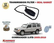 FOR JEEP COMMANDER 3.0TD 2005->NEW AUTOMATIC TRANSMISSION FILTER + GASKET SEAL